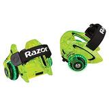 Razor Jetts Dlx Heel Ruedas, Neon Green