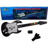 Guitarra Inalambrica Para Play Ps2 , Huskee Nueva
