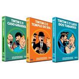 Coleção: As Aventuras De Tintim - 3 Filmes Tintin Originais