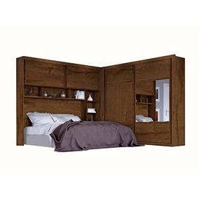 Dormitório Firenze 100% Mdf Modulado C Espelho-móveis Europa