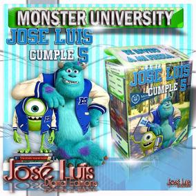 Monster University Invitaciones Kit Imprimible Jose Luis