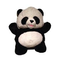 Urso Panda De Pelúcia Novo Ursinho Original Fofy Toys Rsp