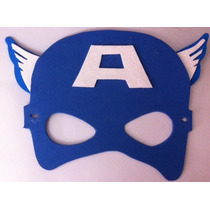 Mascaras De Foamy Fomi Capitan America Y Tiara Mujer Maravil