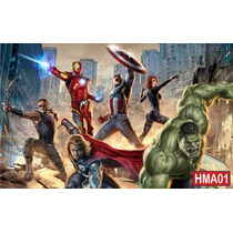 Papel De Parede Painel Fotográfico Super Herói