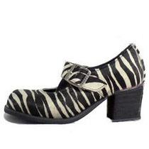 Sapato, Zebra, Salto Bn-171.