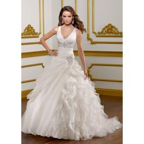 Vestido Novia Nuevos Mod Ambar Hasta Talla 56 Via Novia