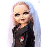 Tiffany Chucky Figura Muñeca 22 Pulgad Cine Terror Saw Dist0