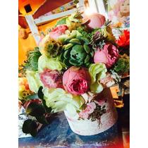 Arreglos Florales Tipo Vintage, Shaby Chic, Bodas, Eventos