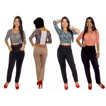 Blusas Dama Blusones Crop Top Leggins Vestidos Licras Be