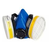 Mascara Respiradora Libus Media Cara 9000e P/dos Filtros