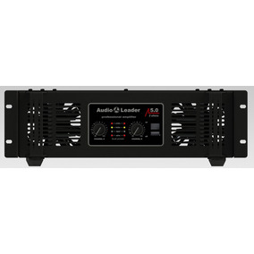 Amplificador Áudio Leader De Áudio Al 5.0 2 Ohms 5000w Rms