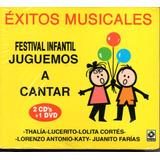 Festival Infantil Juguemos A Cantar/ Éxitos Music 2 Cd`s+dvd