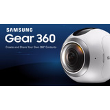 Camara Gear 360 2017 - Action Galaxy Samsung (blanco)