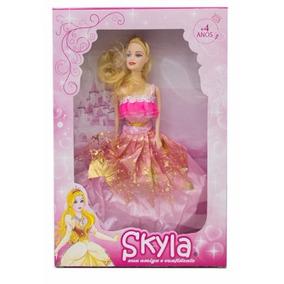 Kit C/ 10 Boneca Julia, Skyla, Isabela, Modelo Barbie