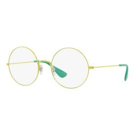 Ray Ban 8610 Armação Amarelo Queimado E Lente Fumê - Óculos no ... dc8581121f