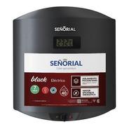 Termotanque Señorial  Black 2.0 Electrico  40 Litros