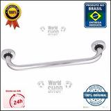 Barra Alça Apoio Aluminio 40cm Deficiente - Idoso - Corrimão