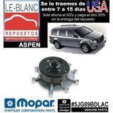 Bomba De Agua Dodge Aspen 4.7 L 2007 - 2009 Original Mopar