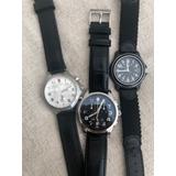 Set De Tres Relojes Victorinox