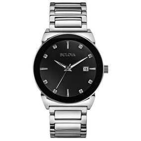 Bulova 96d121 - Reloj Analógico De Cuarzo Para Hombre, Corre