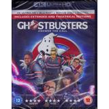 4k Ultra Hd + Blu-ray Caça-fantasmas C/ Dublagem Br 3 Discos