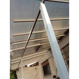 Techo Corredizo En Policarbonato Con Estructura De Aluminio