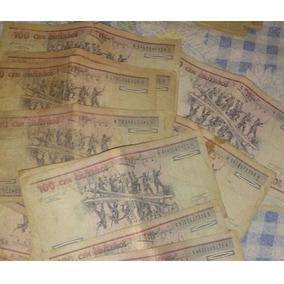 Cédulas 100 Cruzeiros