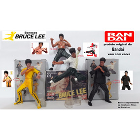 Bonecos Bruce Lee Lote Com 3 Personagens