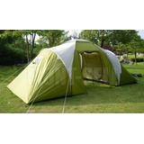 Carpa Iglu 4/6 Ps 3000 Mm 3 Ambientes + L U Z Regalo