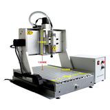 Maquina Cnc Con 4to Eje Spindle 1.5 Kw (2 Hp)60x40 Cm 110v