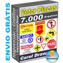 Pack Vetor Placas Sinalização Abnt Norma Corel Envio Grátis
