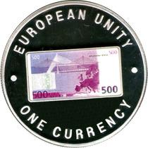 Spg Zambia 1000 Kwacha 1999 ( Billete 500 Euros Coloreado )