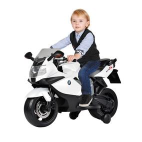 Moto Infantil Elétrica Bmw K1300 Branca El 6v - Bandeirante