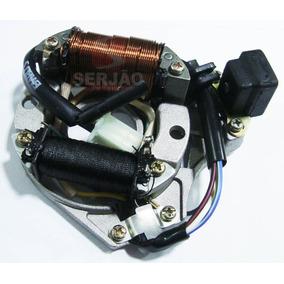 Estator Magnetico Biz100 2002 A 2006 Es Serjão Moto Peças