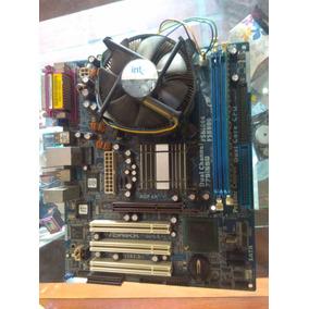 Tarjeta Madre Sockert 775 Ddr1 Dual Core Mas Procesador