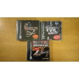 Resident Evil 1 2 3 Nemesis Dual Shock Ps1 Ps2 Ps3 Lote Psx