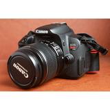 Canon T4i Kit Lente 18-55 Estabilizado