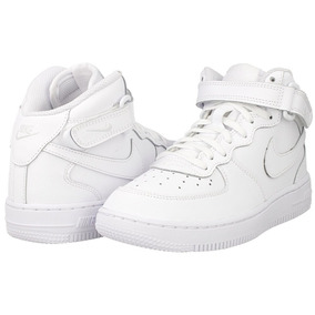 Nike Air Force 1 Mid Branco Original Infantil