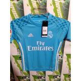 Jersey adidas Real Madrid 100%original D Niño Oferta Portero