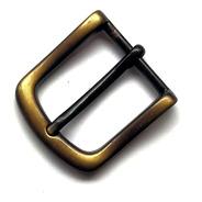 Hebilla Cinto Bronce Viejo Marroquineria Pase 3 X 10u