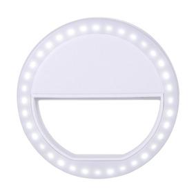 Losmile Selfie Ring Light Clips On Night Fill Light -blanco