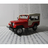 Jeep Willys Antiguo Escala 1/43 Coleccion 8.5cm Largo Yipao