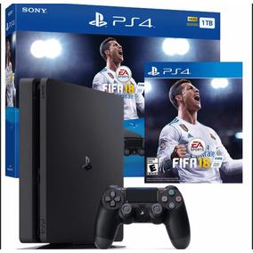 Playstation 4 Slim 1tb Fifa 18 Nueva
