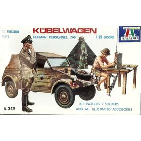 Antiguo Italaerei Kit Plastico Escala 1/35 Vw Kubelwagen