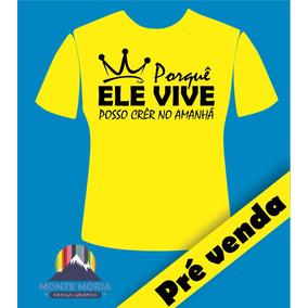 Camisa Gospel Estampa