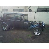 Hot Rod Ford A 29 Tudor Enfierrad Especial Etc Permuto Vendo