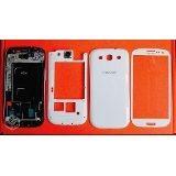 Carcaça Galaxy S3 I9300 9305 +vidro Completa +cola Lente Bca