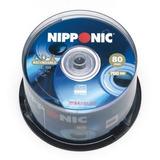 100 Cd-r Nipponic Dados 52x Pino