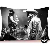 Almofada Guns N Roses Axl Rose Slash Rock Com Enchimento
