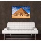 Cuadro Egipto Piramide Camello Desierto Africa 30x45cm Envio